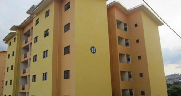 Bâtiment d'un logement social à Yaoundé