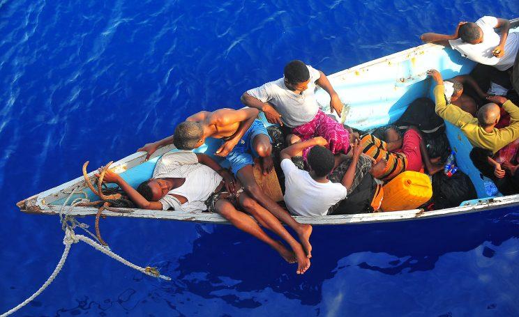 Une dizaine de migrants